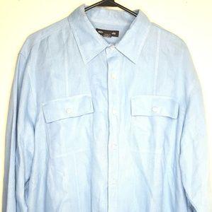 Michael Kors Mens XL Tailored Fit Long Sleeve
